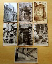 Lot of 7 Antique & Vintage Postcards ALL CARPENTRAS, FRANCE