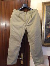 "PULL & Bear    CROPPED Fit Pantalón Cotton ""Talla 46  NUEVO Chino"