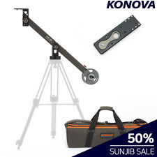 KONOVA S400 SUNJIB With BAG, LONG PLATE Camera Mini Crane Single Arm Pocket Jib