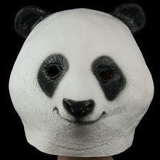 Animal Zoo Panda Latex Head Mask Halloween Party Cosplay Costume Tricky Prop Toy