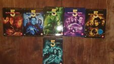 Babylon 5 The complete series + movies; 6 boxes, 33 DVD's
