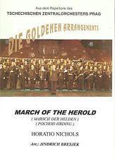 Blasmusiknoten Marsch der Helden / March of the herald