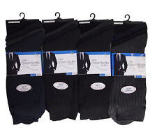White Collar 100 Cotton Socks for Men 36 Pairs 6-11 (c91s1)