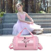 Children's Dance Bag Girl Kids Gymnastics Dance Ballet Swim Bag Back