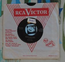 Skeeter Bonn 45 Rock-A-Bye Baby / There's no use Now 1955 Rockabilly M-
