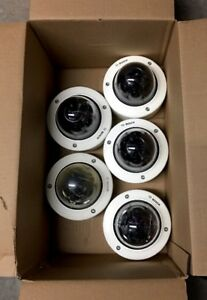Lot Of (5) Bosch NWD 495V03 20P IP Flexidome Indoor Outdoor Vandal Proof Camera