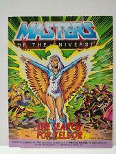 MOTU THE SEARCH FOR KELDOR mini comic Masters of the Universe he-man vintage