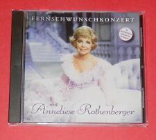 Anneliese Rothenberger - Fernsehwunschkonzert mit -- CD / Klassik