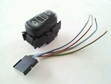 MERCEDES W202 C230/C220/C280 REAR POWER WINDOW SWITCH (LEFT OR RIGHT)  4 WIRE