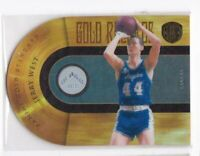 2011 Jerry West #/299 Panini Gold Standard Lakers Die-Cut