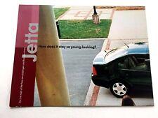 2001 VW Volkswagen Jetta Original Car Sales Brochure