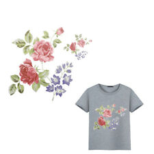 Flower Patches Clothes Ironing Stickers Diy Print On T-shirt Dresses Decor_LS