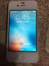 Teléfonos móviles libres blancos Apple iPhone 4s con 16 GB de almacenaje