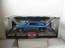 1/18 SCALE HIGHWAY 61 SUPERCAR COLLECTIBLES 1969 CHEVY YENKO CAMARO