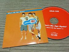 BLINK 182 - WHAT'S MY AGE AGAIN CD SINGLE 1 TRACK CARD SLEEVE PUNK