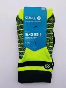 STANCE FUSION Mens Basketball Socks - Medium (6-8.5)