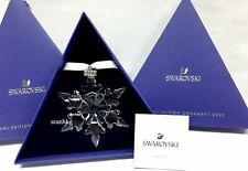 Swarovski 5511041 Christmas Ornament Large Snowflake 2020 Crystal Authentic MIB