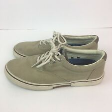 Sperry Top Sider Mens 8 Khaki Good Used Condition