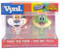 New Funko Vynl 2 Pack Tony The Tiger & Dig Em Frog Target Exclusive In Hand