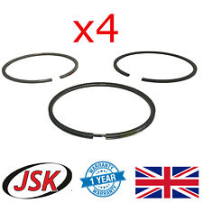 More details for piston ring set 12pc std 84mm for perkins 4-cyl 404a-22 404c-22 404d-22 104-22