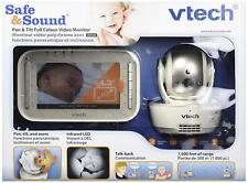 VTech VM343 Video Baby Monitor with Automatic Infrared Night Vision, Pan/Tilt...
