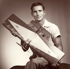 """Model Airplane Plans (UC): Quicker 36"""" Combat for .35 Engine by Riley Wooten"""