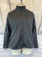 OGIO Black Full Zip Soft Shell Jacket Women's Size Small