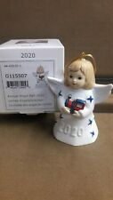 Goebel, 2020 Annual Angel Bell, 45Th Edition, Specially Painted, Free Usps