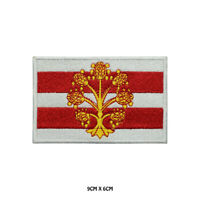WESTMORLAND County Flag Embroidered Patch Iron on Sew On Badge For Clothes Etc