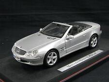 Maisto Mercedes-Benz SL-Class 1:18 Silver (JS)