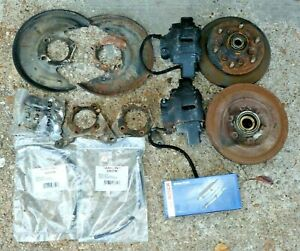 Chevy LUV Isuzu Front Wheel Disk Brake Rotors Calipers for Conversion