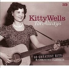 Kitty Wells - For Always: 60 Greatest Hits & Country Classics [New CD] Holland -