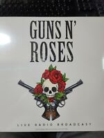 "GUNS N' ROSES ""LIVE RADIO BROADCAST"" LP 2018 VINYL SEALED BRAND NEW UNPLAYED"