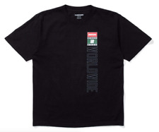 NIKE UNDEFEATED WORLDWIDE TEE T-Shirt Black Sz M Deadstock