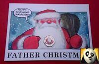 🎅 🎄 2018 GIBRALTAR Christmas Father Santa 50p Fifty Pence Coloured Coin Card