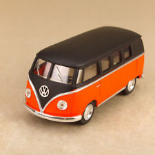 1962 Volkswagen Kombi Microbus 1:32 Scale 13cm Die-Cast Model Car Matt Orange