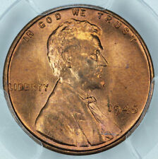 1945-S PCGS MS66RD Lincoln Cent 35382281