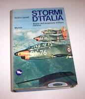 Lazzati - Stormi d'Italia Storia aviazione militare italiana 1^ ed. 1975 Mursia
