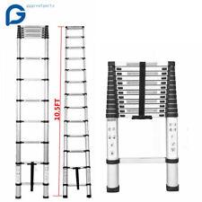 10.5FT Step Ladder Extension Telescoping Lightweight Portable Telescopic