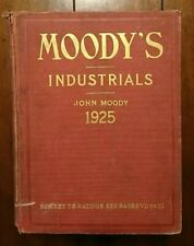 Moody's Manual of Investments, American and Foreign - Industrial Securities 1925