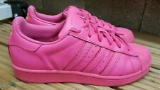 GORGEOUS ADIDAS SUPERSTAR II PHARRELL WILLIAMS SHELL TOE TRAINERS SIZE 5.5 PINK