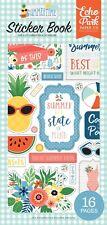 Echo Park Paper SUMMERTIME Scrapbook Sticker Book