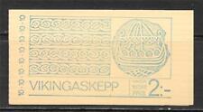 SWEDEN 1973 VIKING SHIP BOOKLET OF 20 SC # 962A MNH