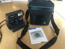 POLAROID 636 CLOSE-UP INSTANT CAMERA - IT WORKS + OWNERS MAN +PADDED CARRY CASE