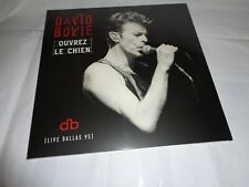 DAVID BOWIE OUVREZ LE CHIEN LIVE DALLAS 95 vinyl NEW SEALED