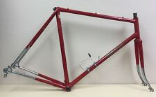 BIANCHI SPECIAL FRAME AND FORK 57 CM CHROMOLY TUBING