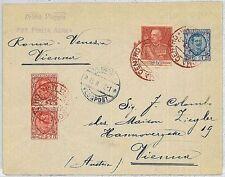 ITALIA storia postale - PRIMI VOLI - catalogo LONGHI 1687 : ROMA - VIENNA 1927