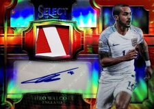 2017-18 Panini Select TIE-DIE Jersey Autographs Theo Walcott #'d /30 READ!!