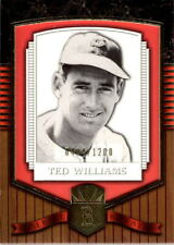 2003 Upper Deck Classic Portraits #192 Ted Williams BBR #/1200 BX 1SS