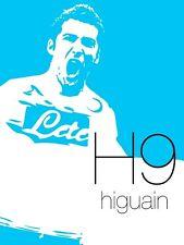 POSTER GONZALO HIGUAIN HAMSIK NAPOLI PIPITA 9 NAPLES SOCCER FOOTBALL CALCIO #3